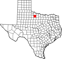 Small map of Baylor county