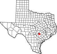 Small map of Caldwell county