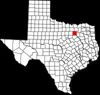 Small map of Dallas county