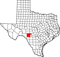 Small map of Edwards county