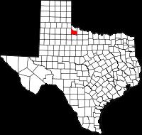 Small map of Foard county
