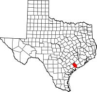 Small map of Jackson county
