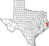 Small map of Jasper county