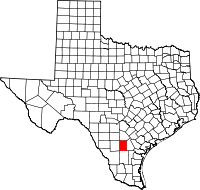Small map of McMullen county