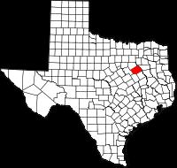Small map of Navarro county