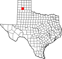 Small map of Randall county