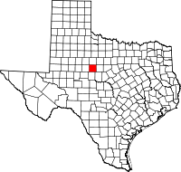 Small map of Taylor county
